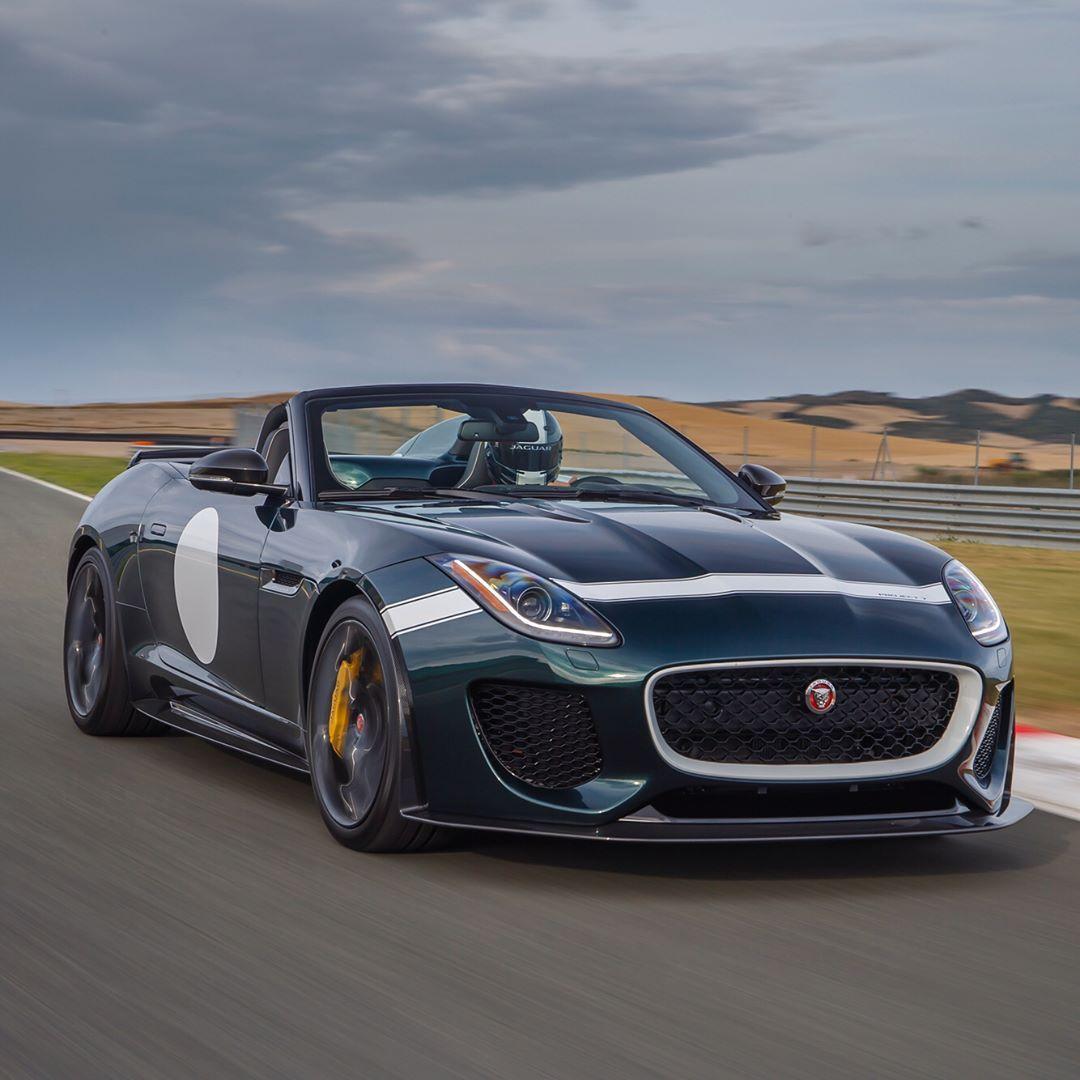 A True Lap Of Exclusivity Jaguar Ftype Project7 Svo Dtype