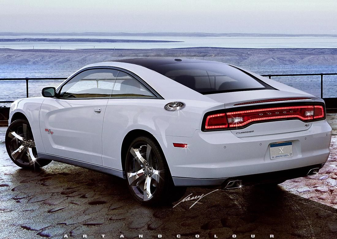 2017 Dodge Charger R T Coupe Concept Conceptual Design Inside New Review