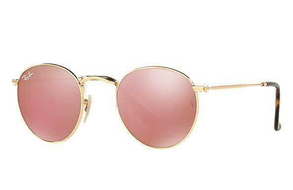 287f592aa1 Gafas redondas Ray Ban rosa | mi cumple 2016 | Lentes de sol, Gafas ...