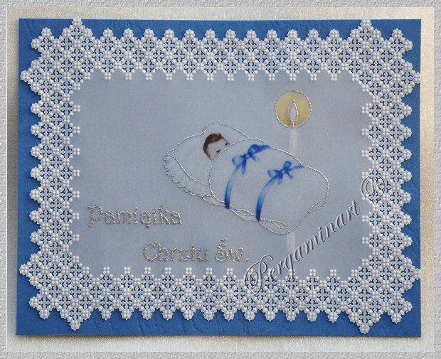 Parchment craft - Baptism