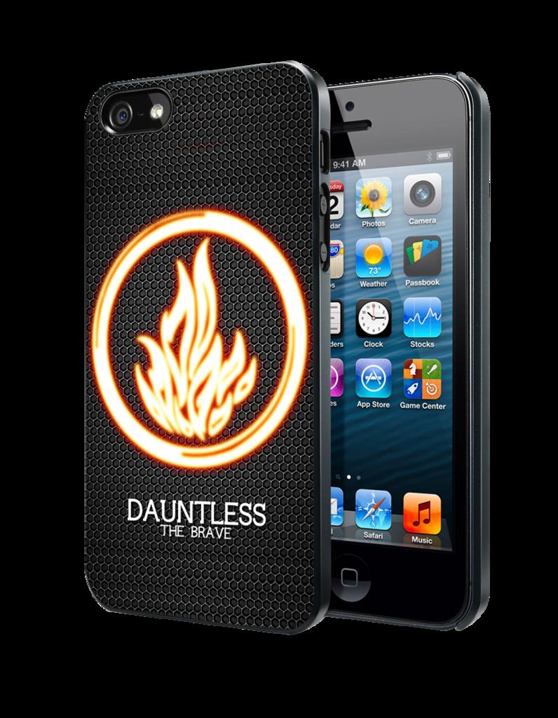 Divergent Be Brave 2 iphone case