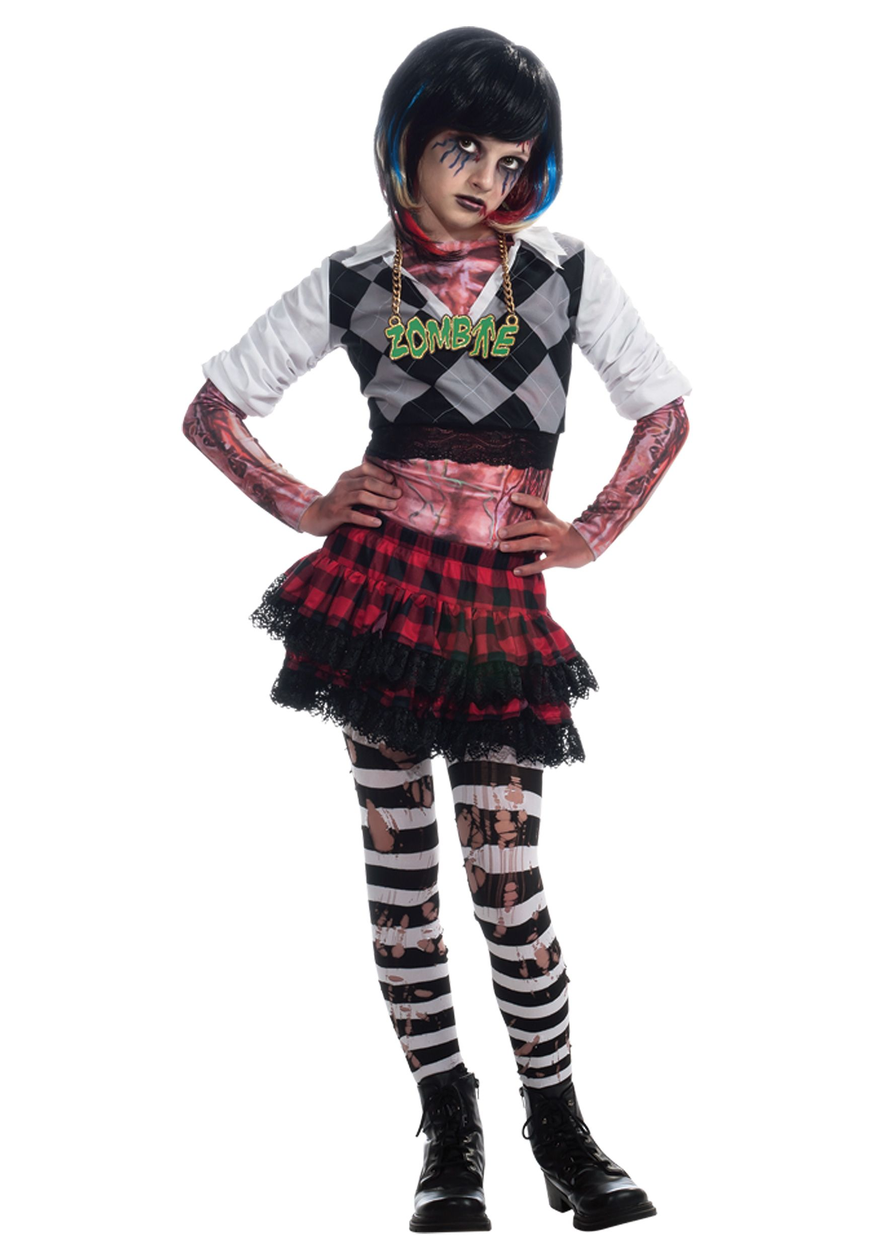 Circus Costumes For Seven Year Old Girls Girl zombie
