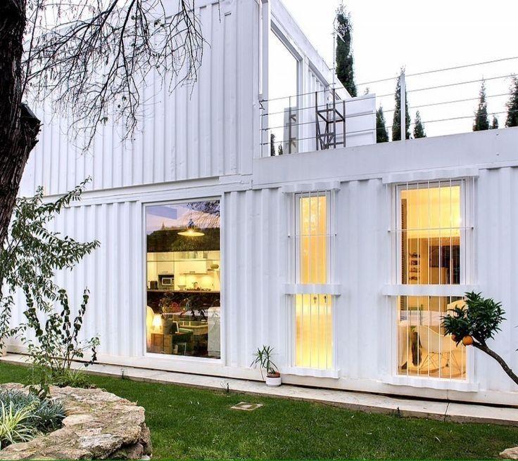 55b2ad85508d8d3573120b03488178b3 container home desing - Casa de contenedores maritimos ...