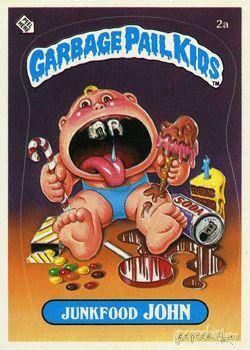 Garbage Pail Kids Original Series 1 Card Collection Garbage Pail Kids Cards Garbage Pail Kids Kids Cards