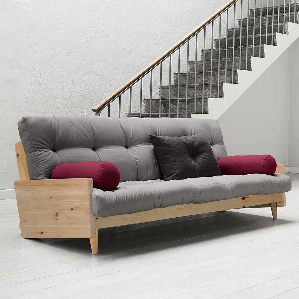 sofa mit futon matratze aus kiefer auf kaufen. Black Bedroom Furniture Sets. Home Design Ideas
