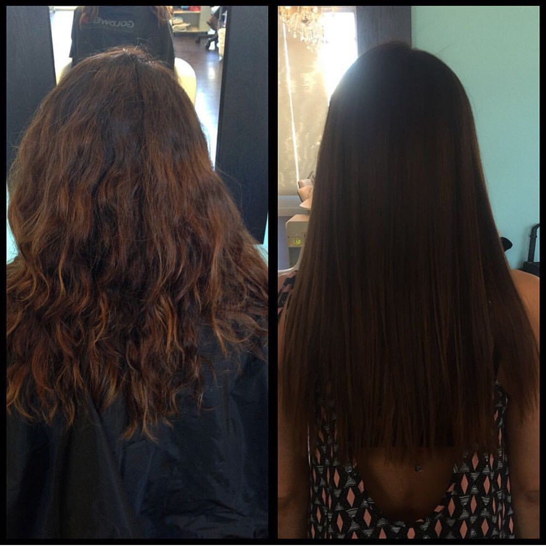 Safe Hair Straightening Treatments From Dry And Frizzy To