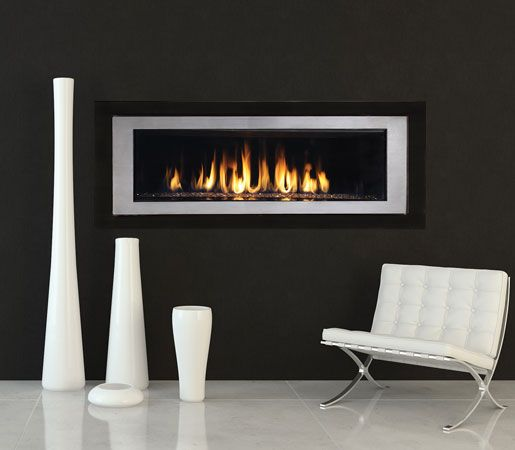 Astria Rhapsody By Innovative Hearth Products Linear In Design And Stunningly Multifaceted In E Gas Fireplace Contemporary Fireplace Designs Interior Design