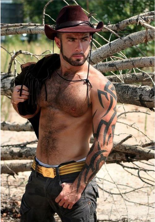 Ride Em Cowboy: Hot Springs (Gay Cowboys)