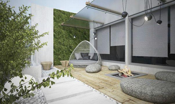 Уютная лоджия. Фото озеленения лоджии | Outdoor bed ...