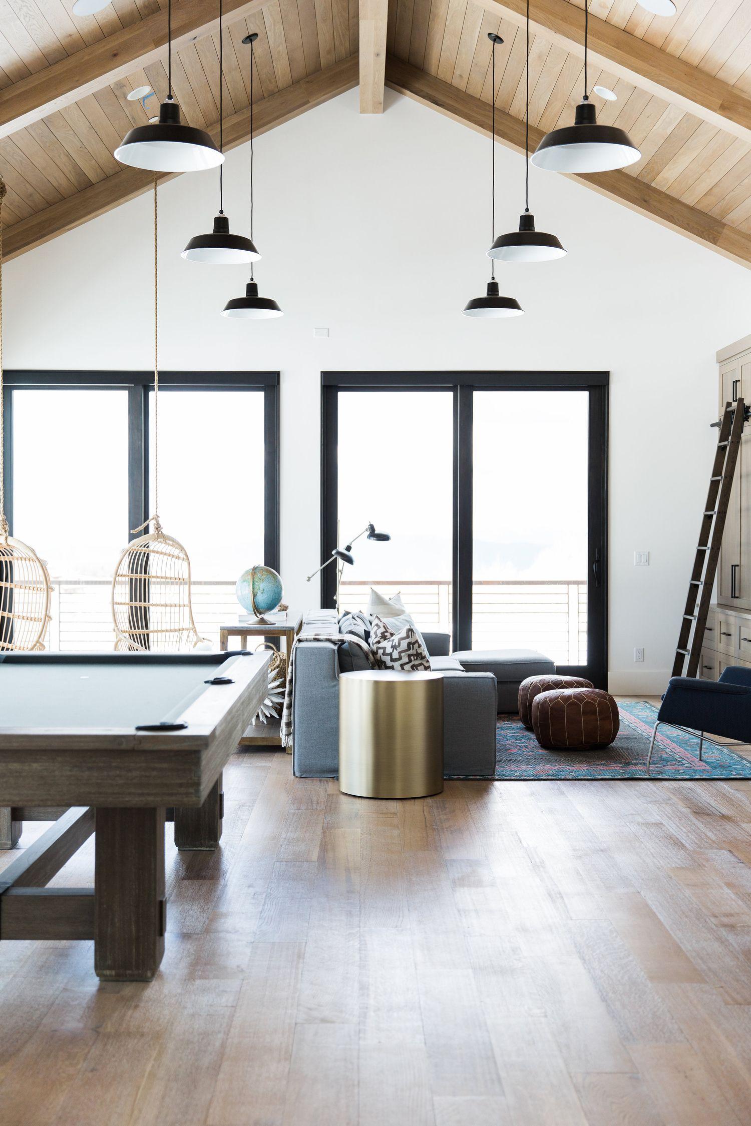 Modern Mountain Home Continued: Bonus Room | Studio mcgee, Bonus ...