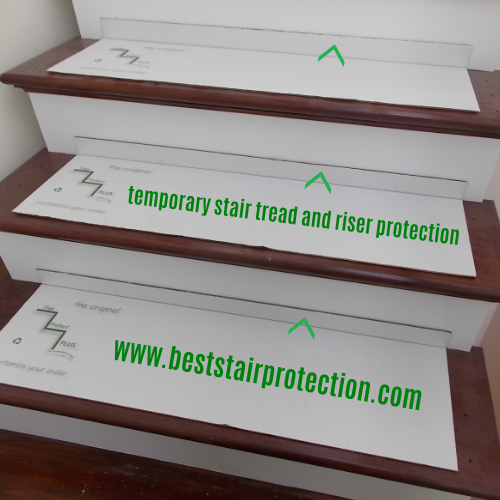 Best Temporary Stair Tread And Riser Protection Pads Treads 400 x 300