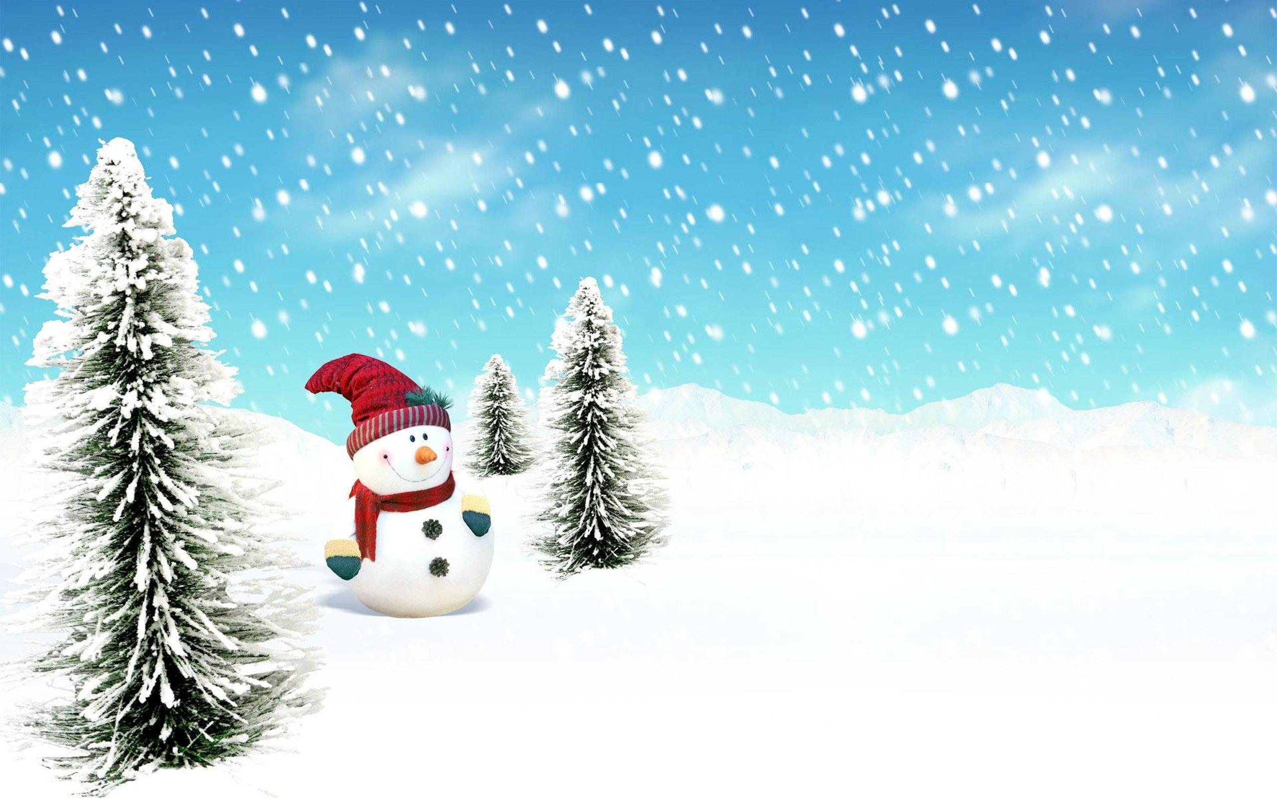 Winter Landscape Vector Wallpaper Pack Download Free