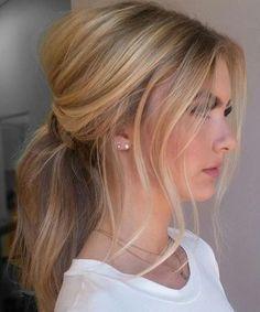 Cute Ponytail Hairstyles For Medium Hair Messy Ponytail Hairstyles Elegant Ponytail Hair Styles