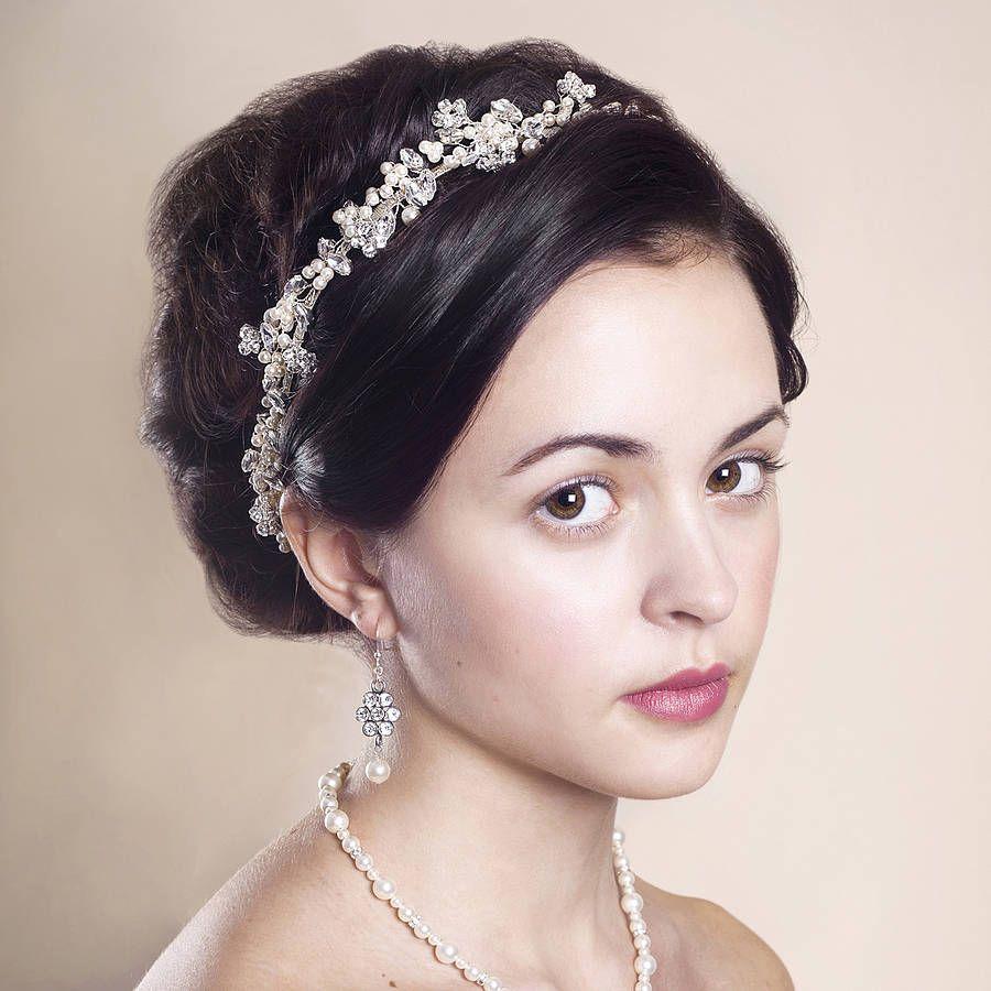 handmade anya wedding headpiece