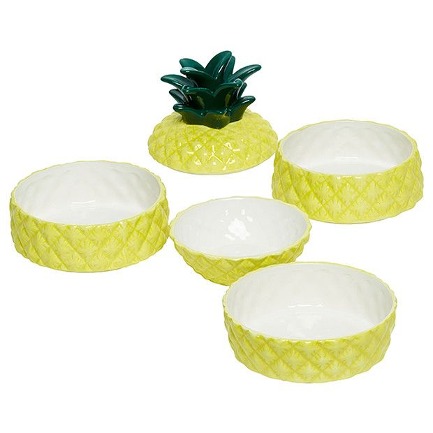 Spike Pineapple Serving Bowls