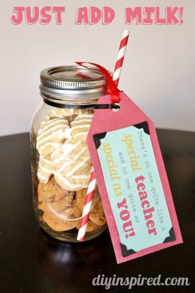 Cookie Mason Jar Teacher Appreciation Gifts Mason Jar Teacher Appreciation Gifts Mason Jar Teacher Teacher Appreciation Gifts Diy