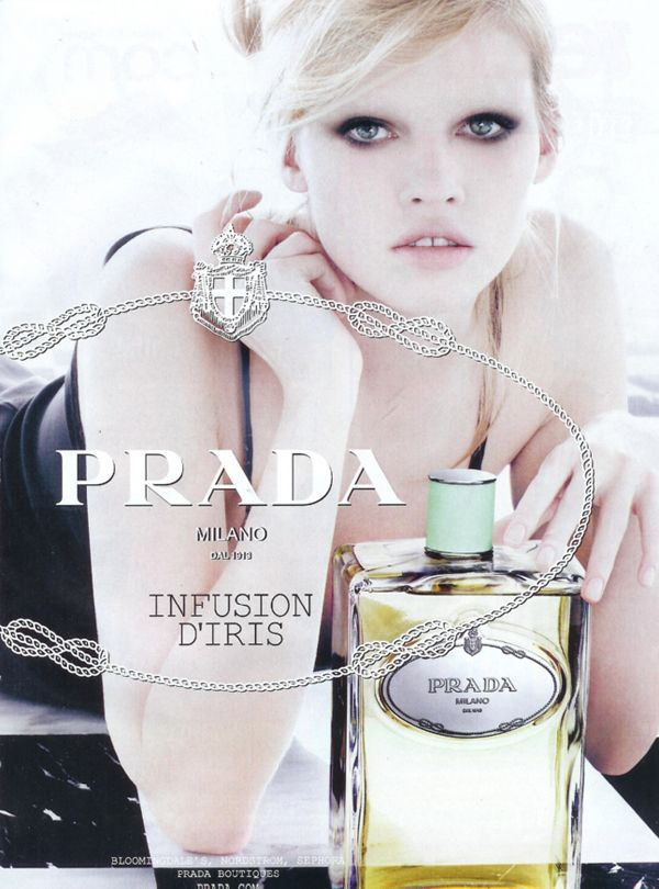 Lara Stone for Prada Infusion D'Iris Fragrance – POPBEE – Popbee | Perfume,  Iris fragrance, Iris perfume