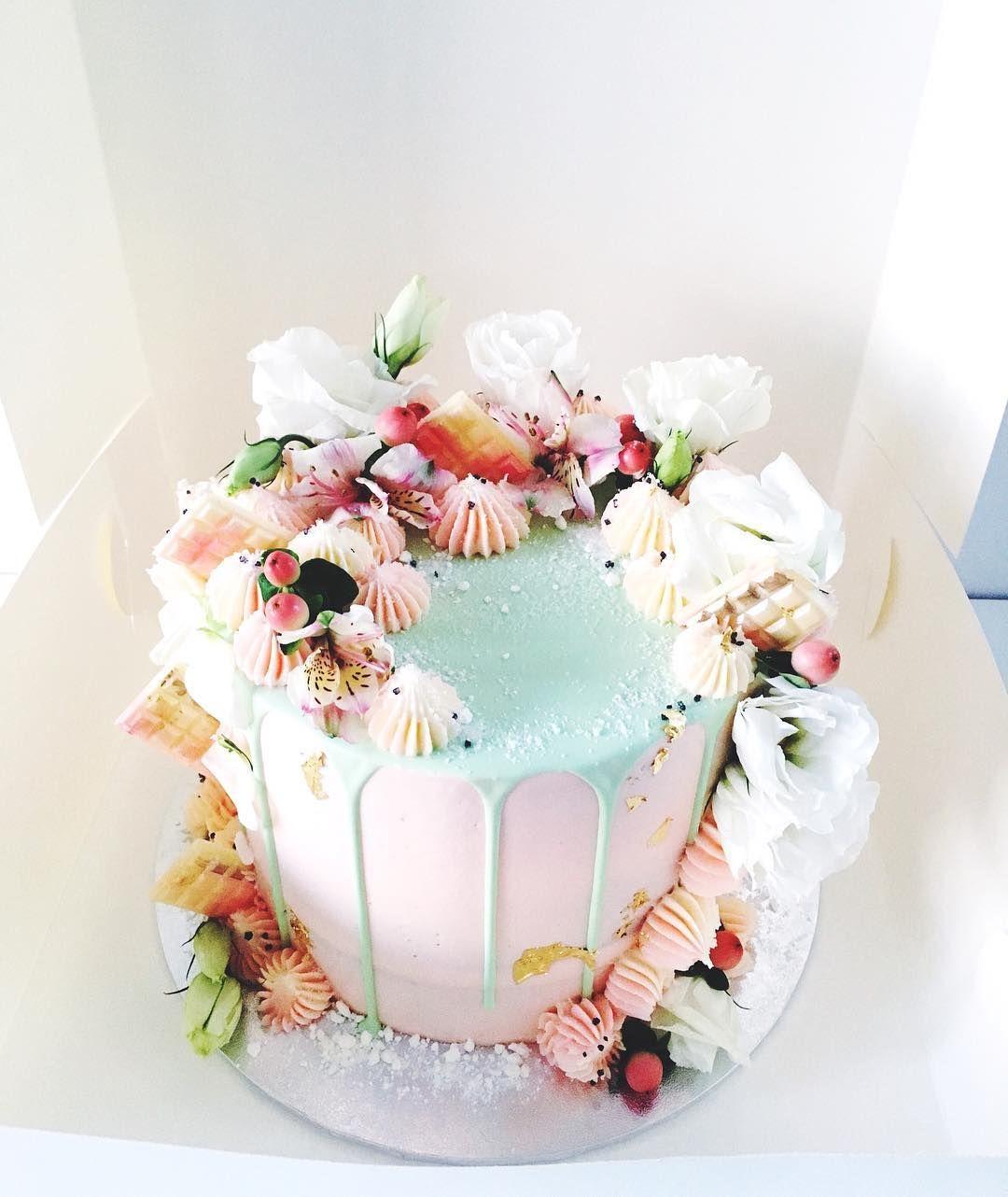 Unique Pastel Cake By Perth Baker Marguerite Cakes Margueritecakes