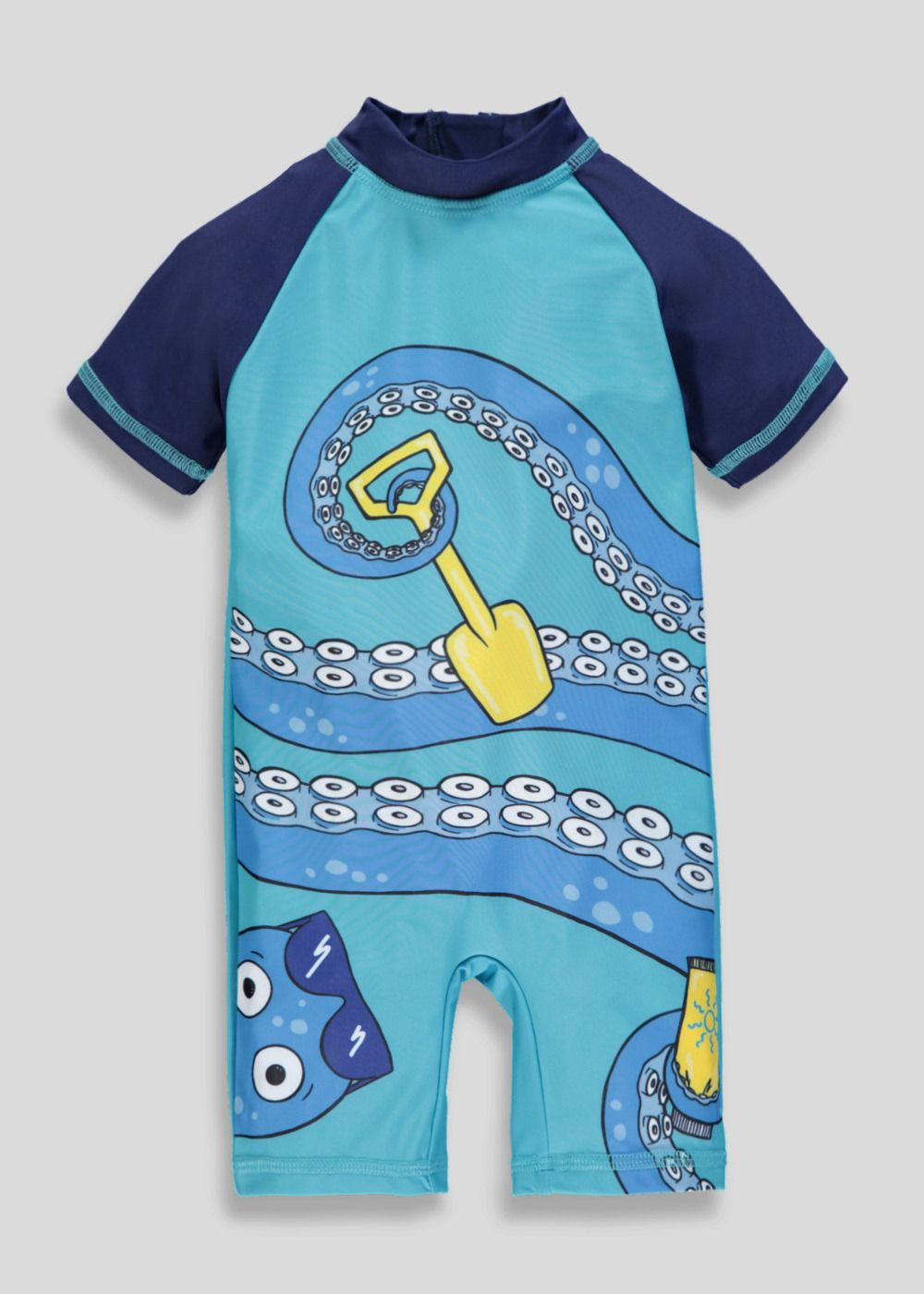 2c2aee2ea0 Kids Octopus Surf Suit (3mths-5yrs) – Blue in 2019 | Leo | Boy ...