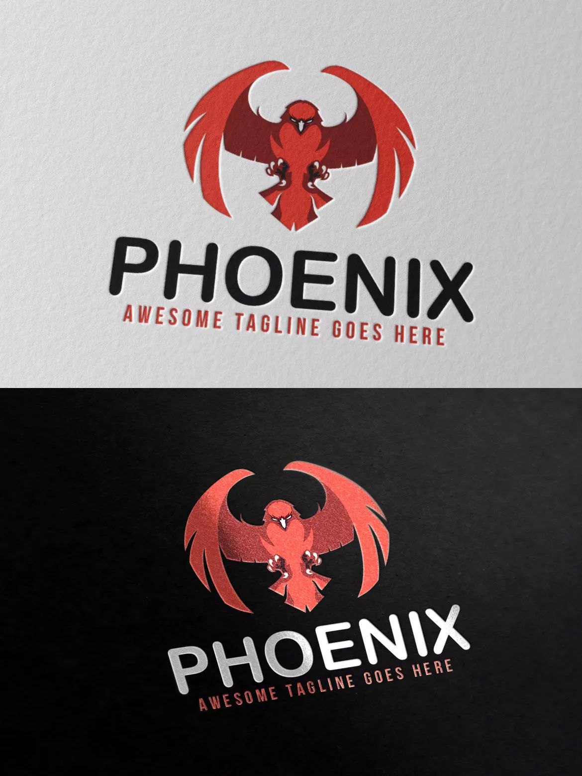 Phoenix Logo Template AI, EPS, PSD Logo templates, Logos