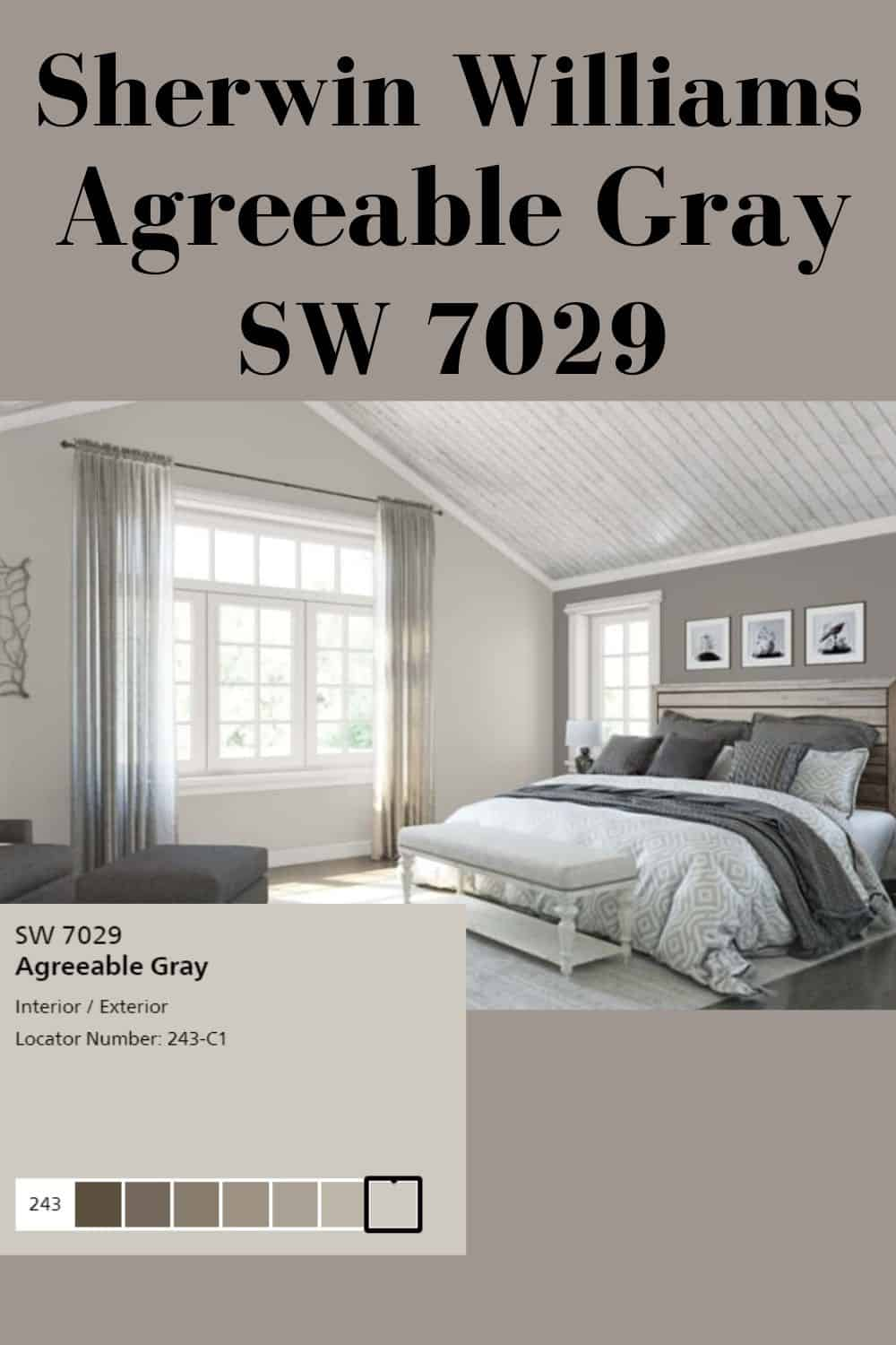 Agreeable Gray Sw 7029 Best Gray Paint Color Agreeable Gray Best Gray Paint