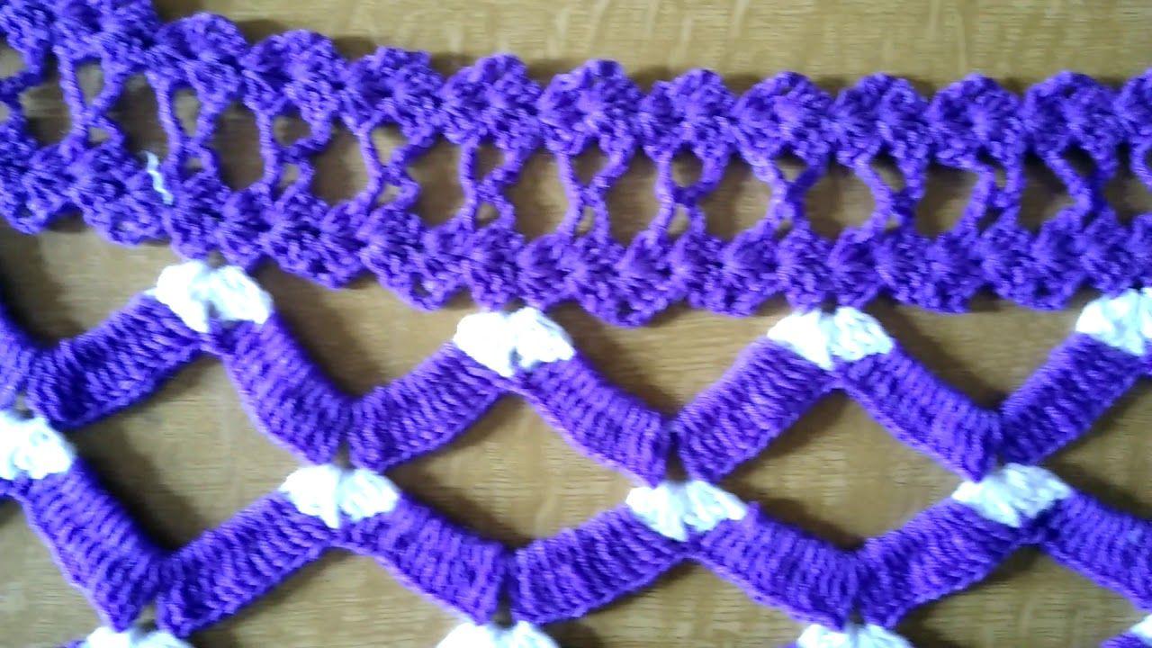 Crochet Door Hanging Toranin Marathi
