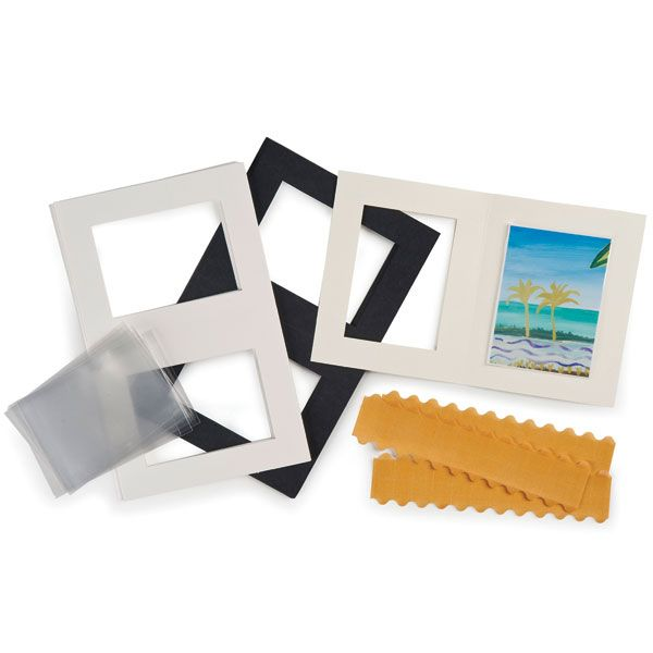 Artist Trading Card Frame Kit from Lineco #ATC #framing #archival ...