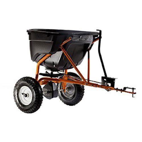 Agri Fab Ag45 0463 130lb Towed Broadcast Smart Spreader Black Orange With Images Vegetable Garden For Beginners Starting A Vegetable Garden Garden Supplies