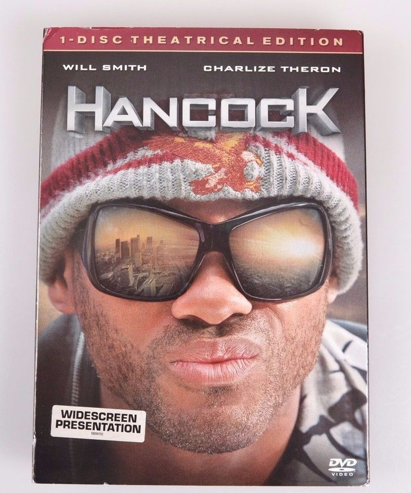 Hancock Dvd Will Smith Widescreen 2008 Special Features Pg13 Filmes De Aventura Will Smith Filmes