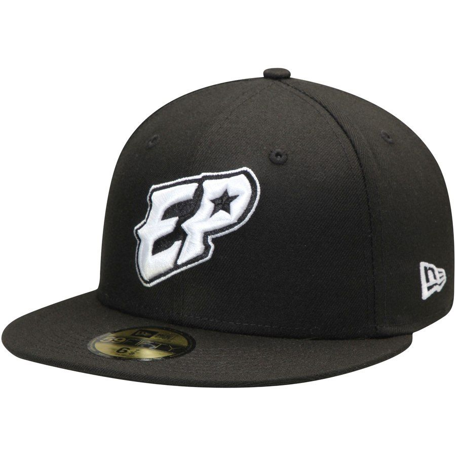 d66c4a7527a52 Men s El Paso Chihuahuas New Era Black Alternate 2 Authentic Collection  On-Field 59FIFTY Fitted Hat.  34.99