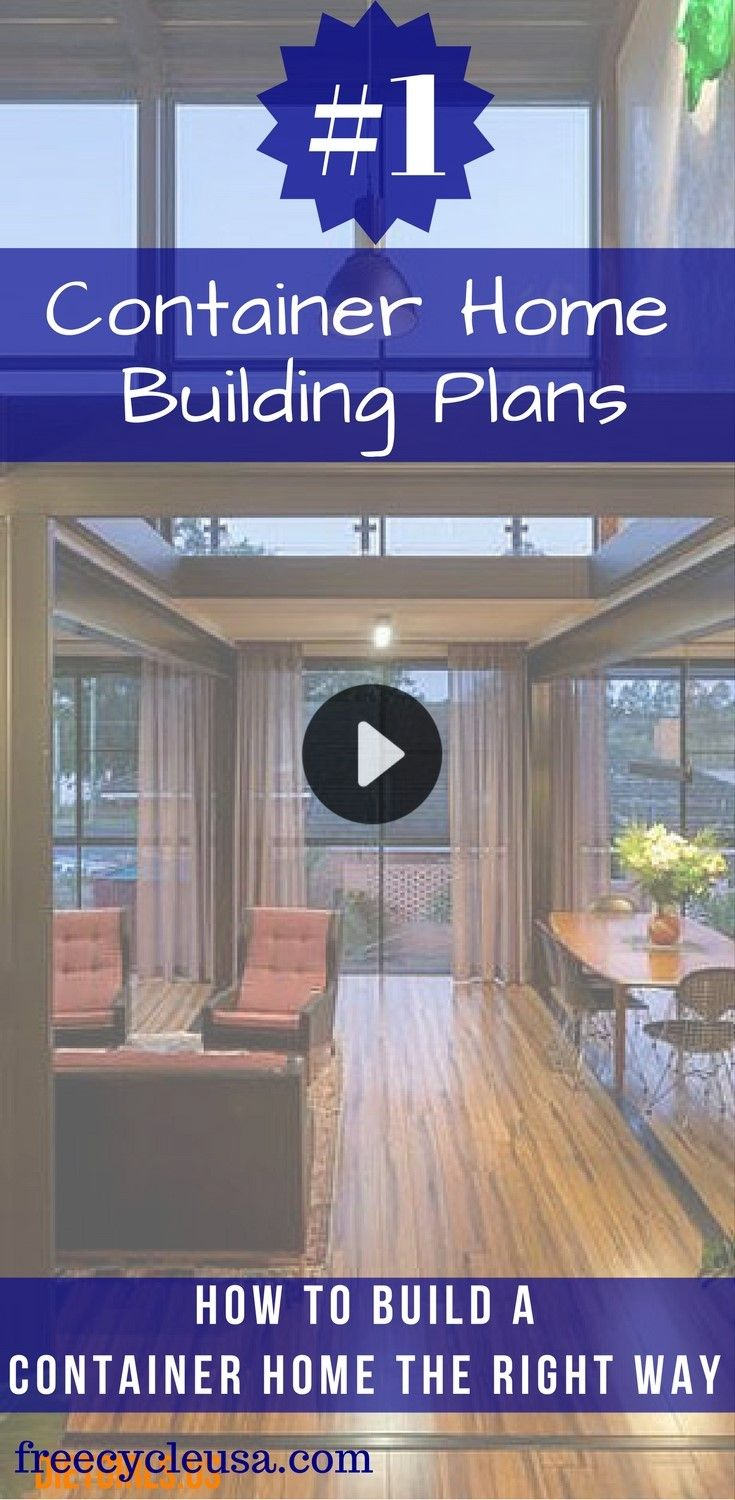 Learn How To Build A Shipping Container Home Today.