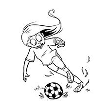 Soccer Ball Coloring Pages Free Printables Soccer Ball Soccer