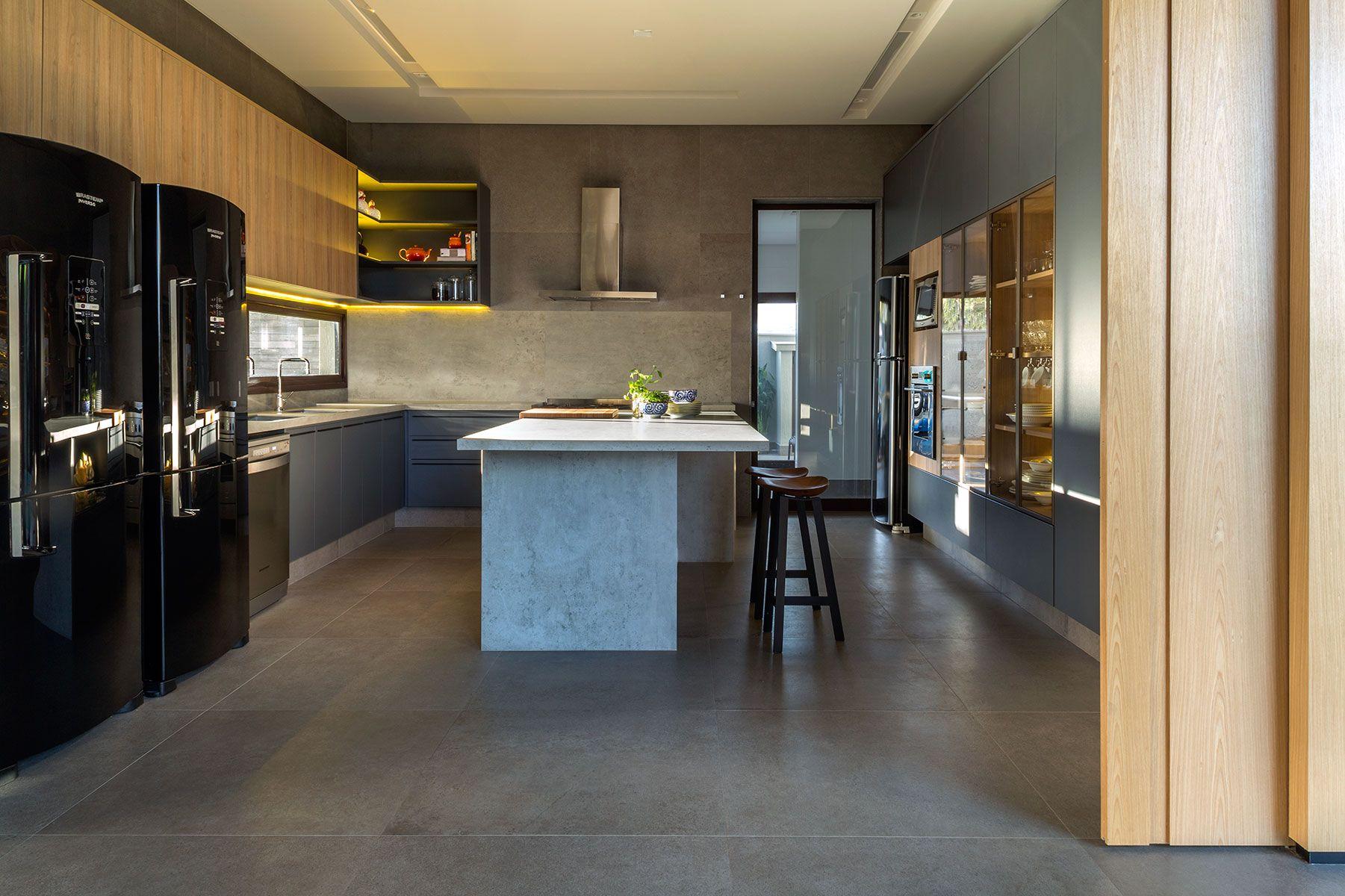 Tons Neutros E Naturais Armario Cozinha Decoracao De Casa