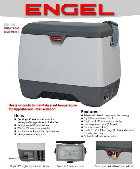 Engel MD14F 12 Volt Portable Refrigerator FREE SHIPPING AT