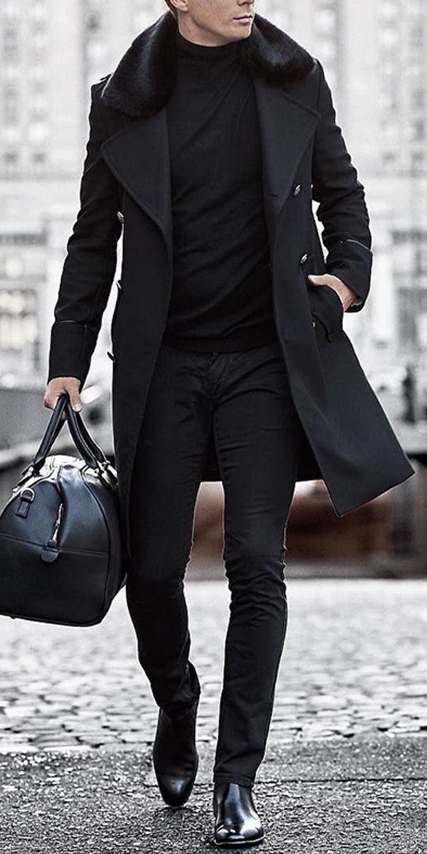 Casual Fur Collar Solid Color Coat #2019fallfashiontrends