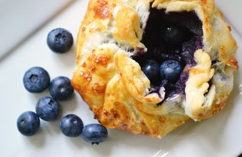Easy Blueberry Galettes!