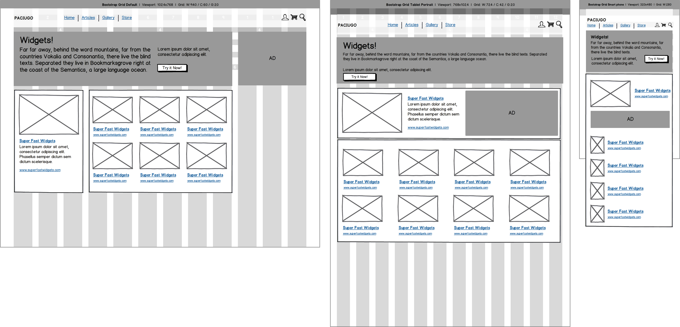 Responsive Design With Mockups Balsamiq Responsive Design Web Design Tutorials Web Design
