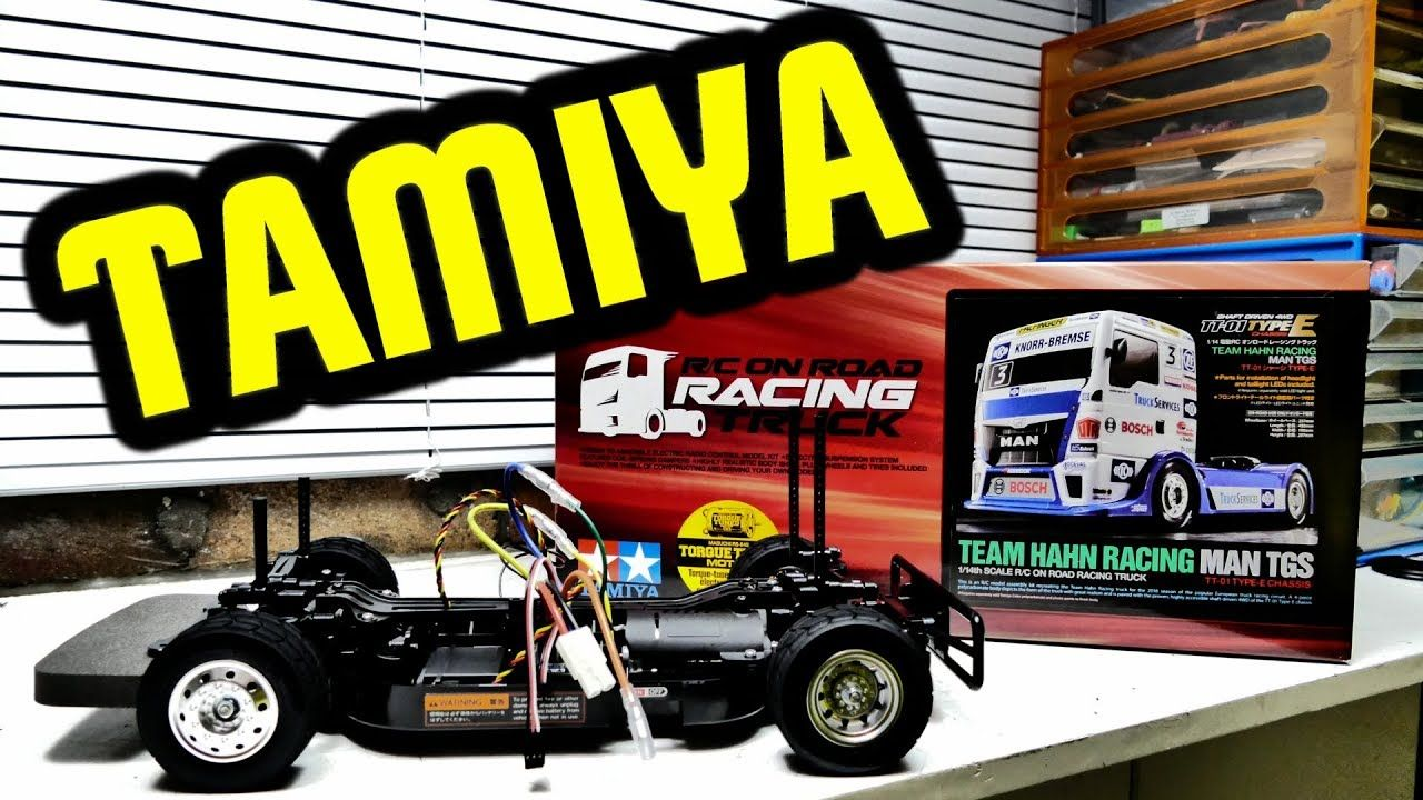TAMIYA TEAM HAHN RACING MAN TGS TT-01 - Build Series Part 1