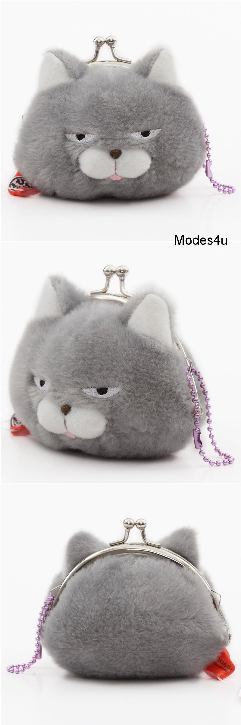 Kawaii Plush Toys image by Modes4u Grey cat plush, Cat