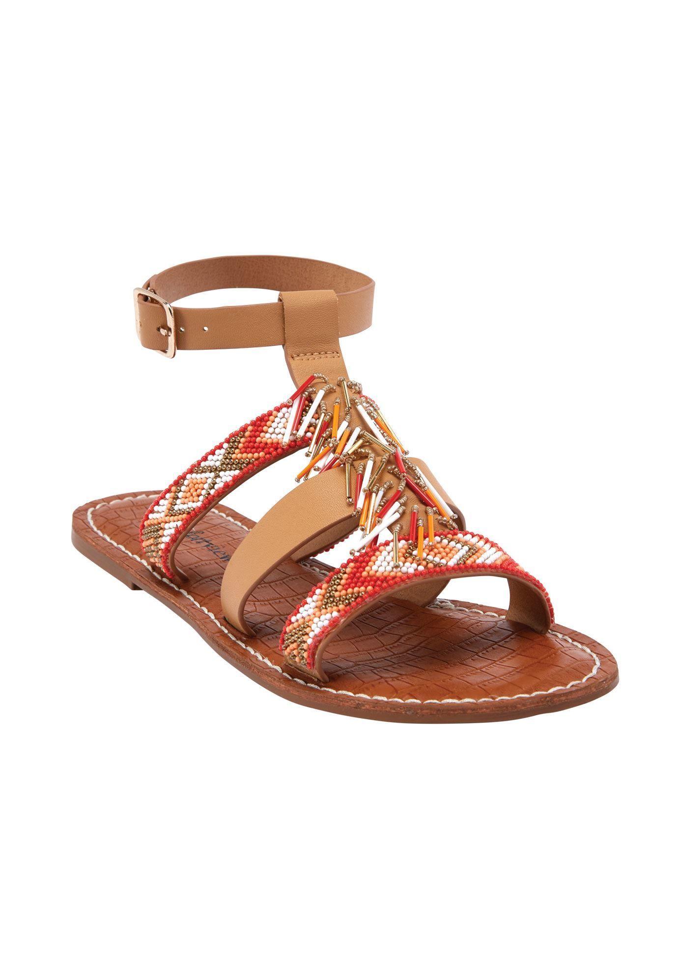 3c10e781e Preiscilla Sandals by Comfortview - Women s Plus Size Clothing ...
