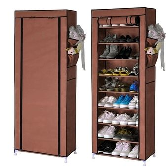 Quality 10 Layer 9 Grid Shoe Rack Storage Shelf Organizer Cabinet