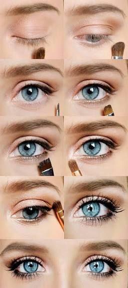 Simple Natural Wedding Make Up Blonde Hair Grey Eyes Google Search Blue Eye Makeup Blonde Hair Makeup Skin Makeup
