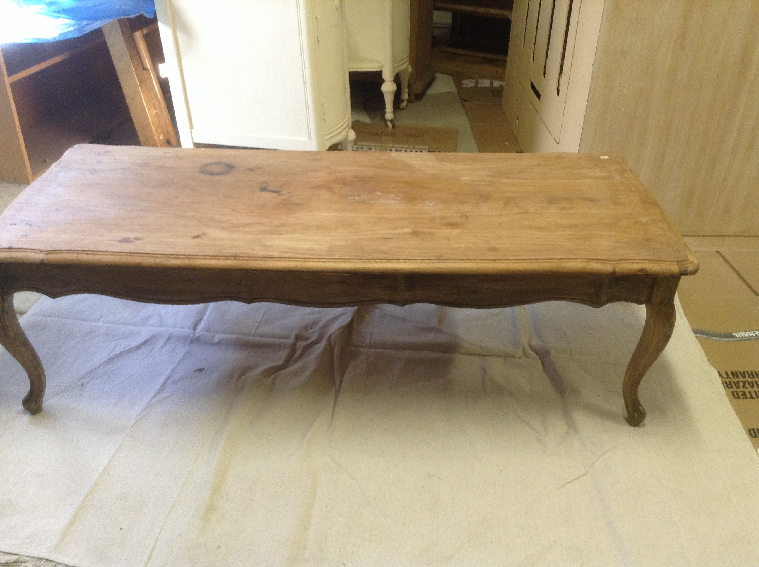 French Coffee Table ideal for Stencil