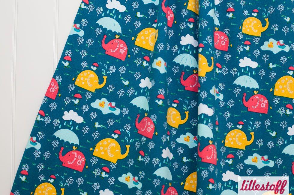 lillestoff » Happy Elephants « // Design: Verena Münstermann // hier ...