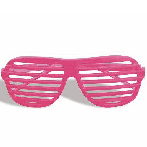 Shutter Shades Novelty Fun Shades Neon Pink As Worn By Kanye West Great For Parties This Years Must Have Accessory Gre Neon Pink Neon Orange Pink Costume