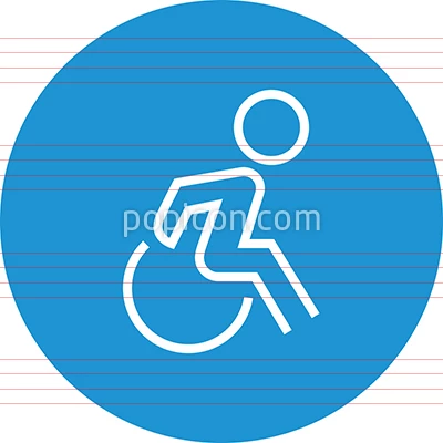 Wheelchair Accessibility Handicap Outline Icon Icon Hospital Icon Outline