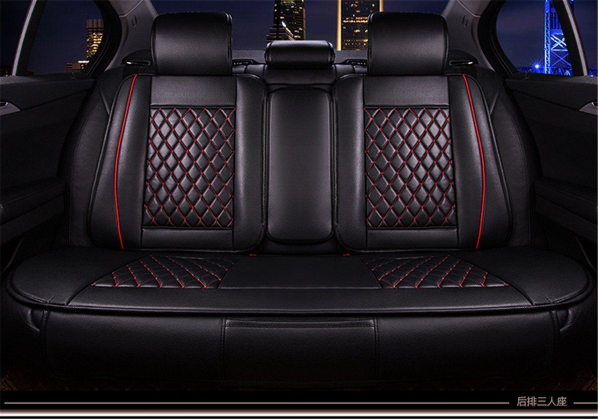 LAND ROVER RANGE ROVER EVOQUE  RED WATERPROOF FRONT SEAT COVER SINGLE