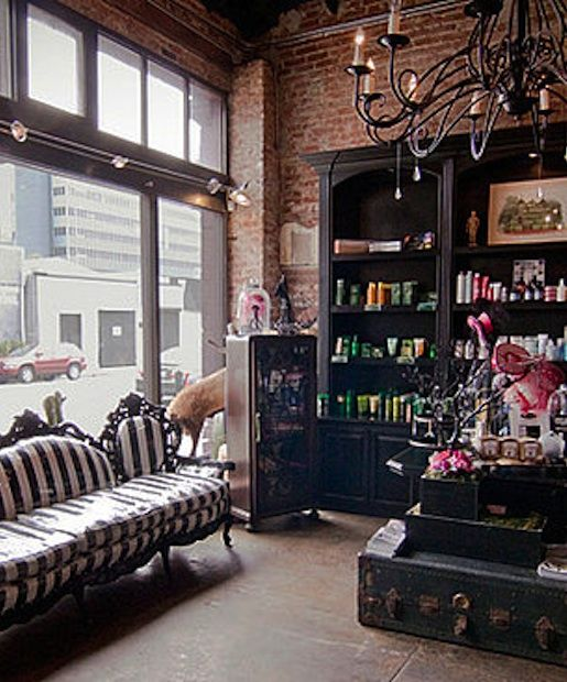 Hairroin Salon Will Immediately Impress Clients With Their Trendy Skull  Decor (and A Punny Name