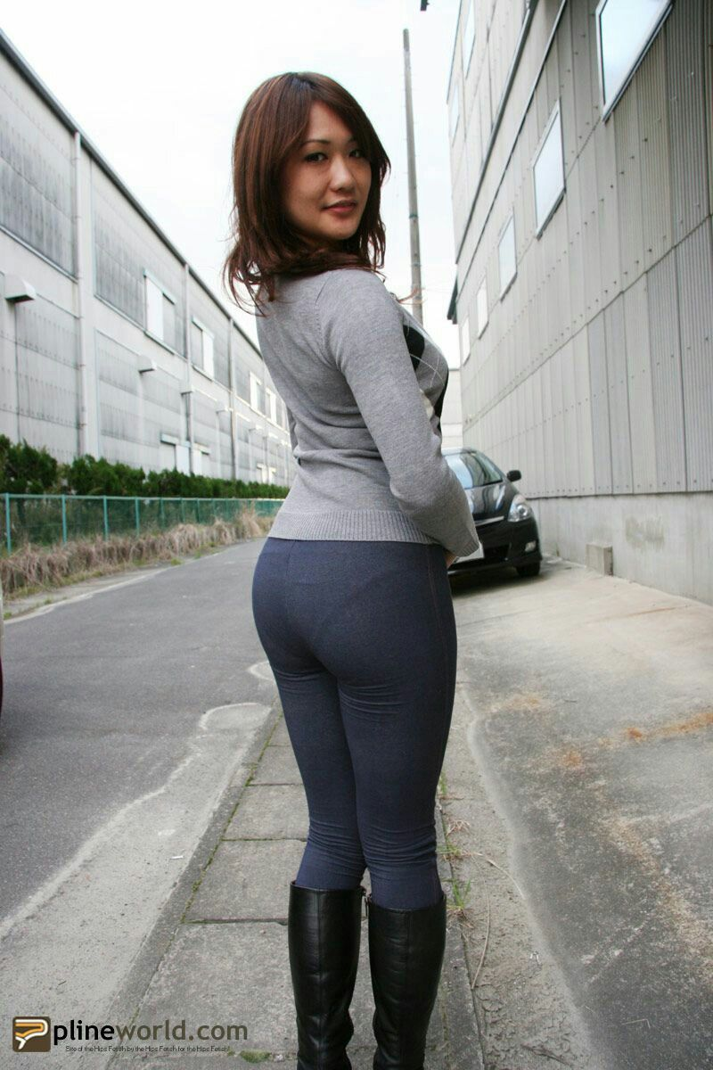 Asian woman tight dress