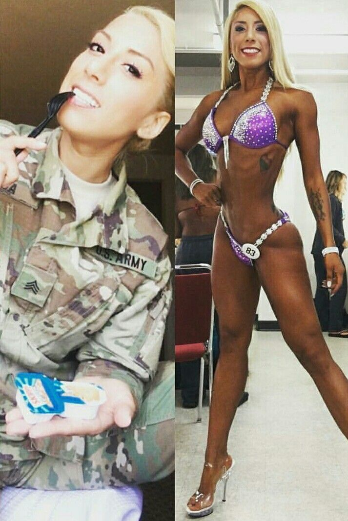 Hot women in the us military